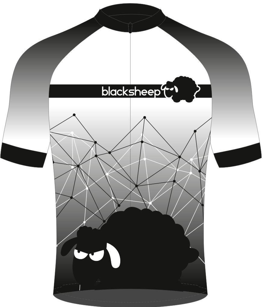Blacksheep-Radtrikot