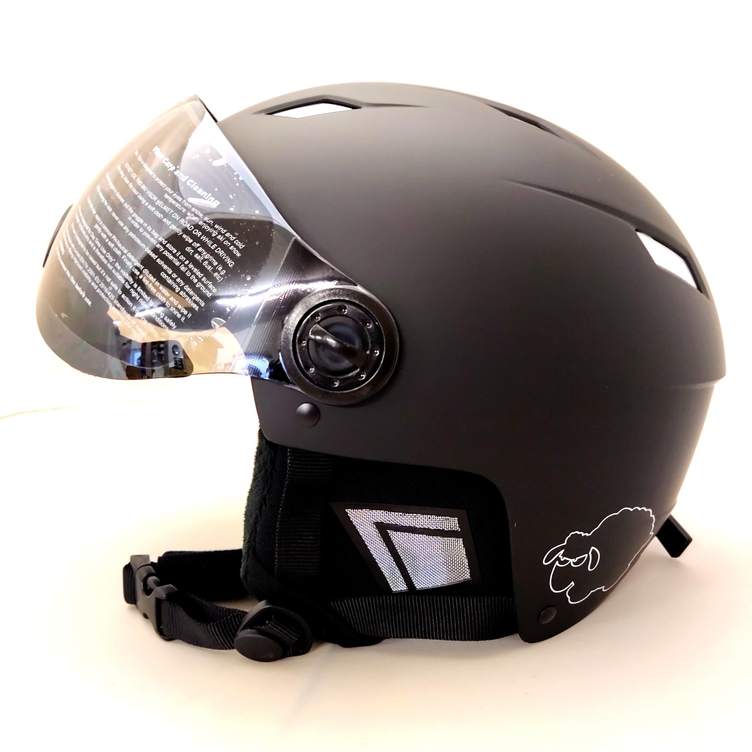 Performance-visor-schwarz